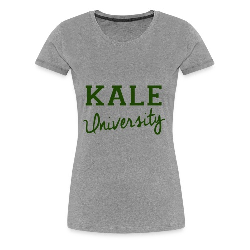 Kale University Tee - Women's Premium T-Shirt