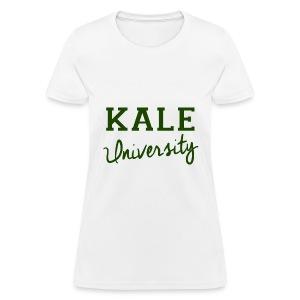 Kale University Tee - Women's T-Shirt