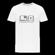 T-Shirts ~ Men's Premium T-Shirt ~ Copy & Paste (Mac Copy - Mens)