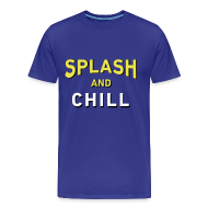 T-Shirts ~ Men's Premium T-Shirt ~ Splash & Chill (Warriors-Mens)
