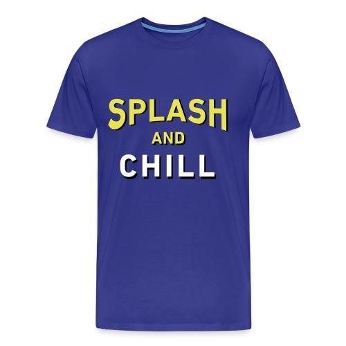 Splash & Chill (Warriors-Mens) - Men's Premium T-Shirt