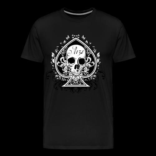 Spade Of Skulls - Men's Premium T-Shirt