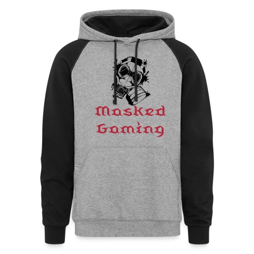 Masked Gaming Hoodie Male or Female - Colorblock Hoodie