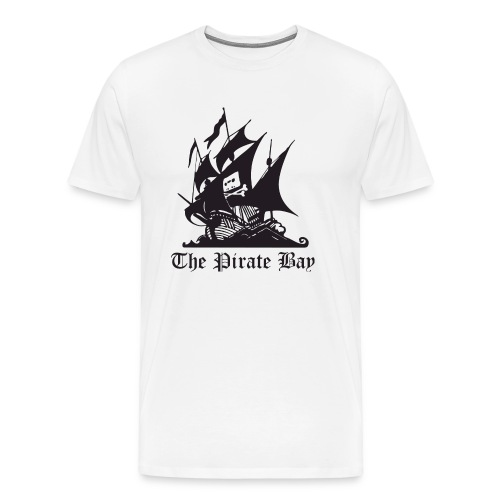 The Pirate Bay - Men's Premium T-Shirt