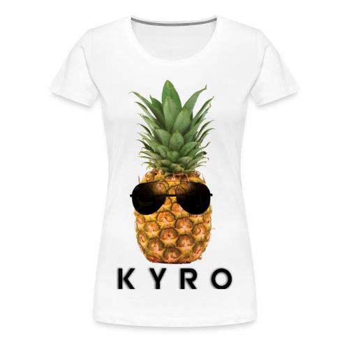Kyro - Pinapple Tee - Women's Premium T-Shirt