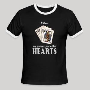 Partner called hearts - Men's Ringer T-Shirt