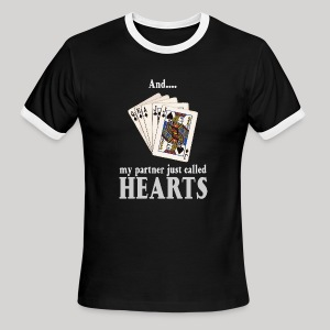 Partner called hearts - Men's Ringer T-Shirt