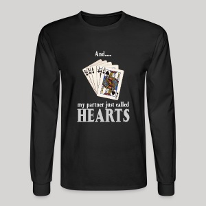 Partner called hearts - Men's Long Sleeve T-Shirt