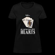 Women's T-Shirts ~ Women's T-Shirt ~ Partner called hearts