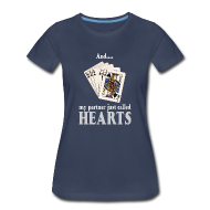 Women's T-Shirts ~ Women's Premium T-Shirt ~ Partner called hearts