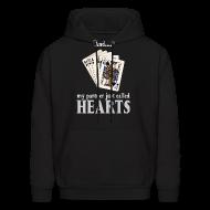 Hoodies ~ Men's Hoodie ~ Partner called hearts