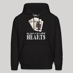 Partner called hearts - Men's Hoodie