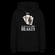 Hoodies ~ Women's Hoodie ~ Partner called hearts