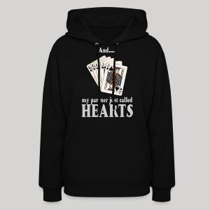 Partner called hearts - Women's Hoodie