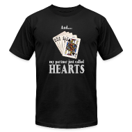 T-Shirts ~ Men's T-Shirt by American Apparel ~ Partner called hearts