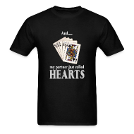 T-Shirts ~ Men's T-Shirt ~ Partner called hearts