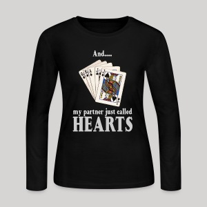 Partner called hearts - Women's Long Sleeve Jersey T-Shirt