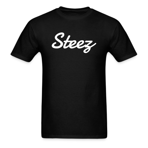 Black SteezCLT OG Logo Tee - Men's T-Shirt