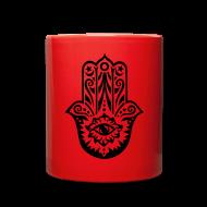 Mugs & Drinkware ~ Full Color Mug ~ Hamsa  Protected Mug