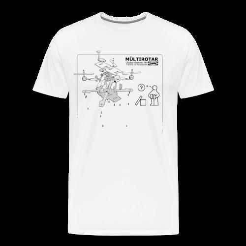 User manual - Men's Premium T-Shirt
