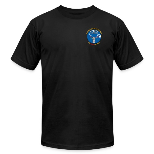 SAC - We Were The Wall (pocket only) - Men's Fine Jersey T-Shirt