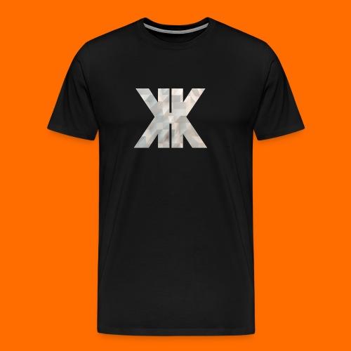 White Low Poly - WeAreKorrupt - Men's Premium T-Shirt