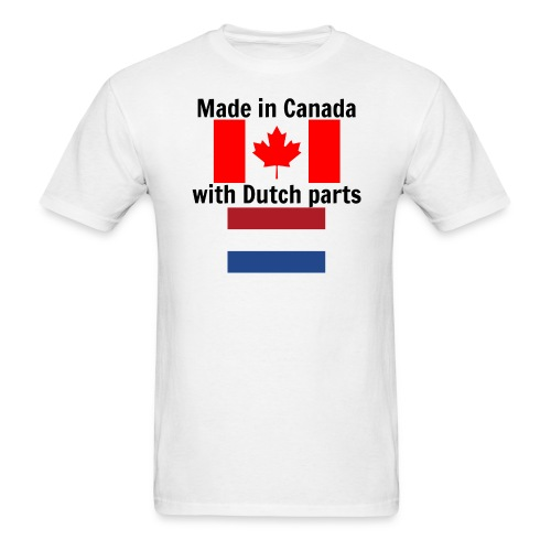 Made in Canada (for men, front) - Men's T-Shirt
