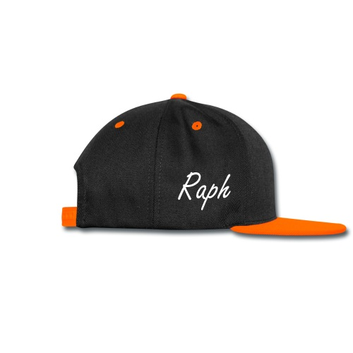 Royalty | Raph | Orange Snapback - Snap-back Baseball Cap