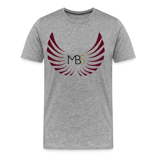 MB5 Logo T-Shirt Grey - Men's Premium T-Shirt