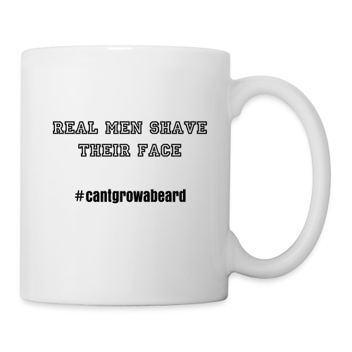 Real Men T-Shirt  - Coffee/Tea Mug