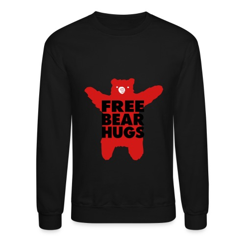 Free Bear Hugs Sweather - Crewneck Sweatshirt