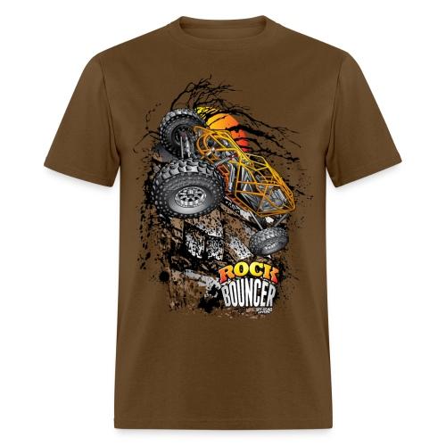 Rock Bouncer Sunset - Men's T-Shirt