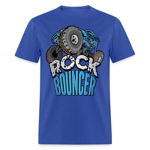 Rock Bouncer Blue - Men's T-Shirt