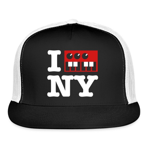 I Synth NY - Trucker Cap