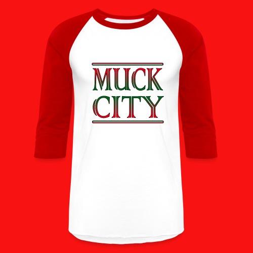 Muck city baseball - Baseball T-Shirt