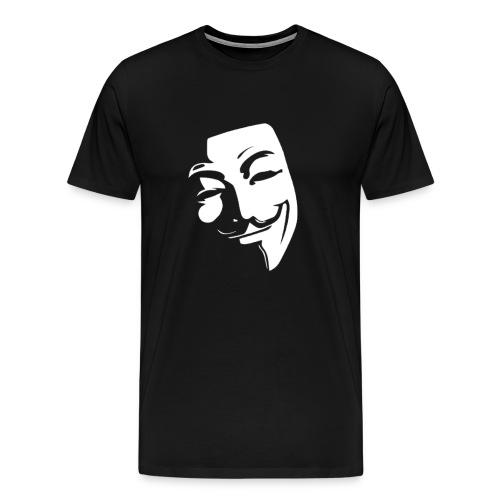 Anonymous, Guy Fawkes, Mask, V for Vendetta, November - Men's Premium T-Shirt