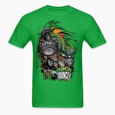 Rock Bouncer Sunset Grn T-Shirts