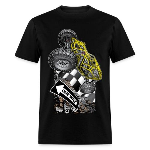 Rock Bouncer One Way - Men's T-Shirt