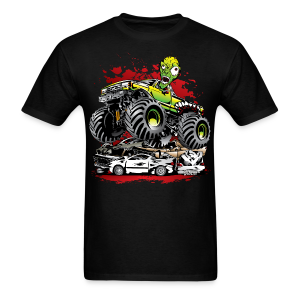 Monster Truck Ghoulie - Men's T-Shirt