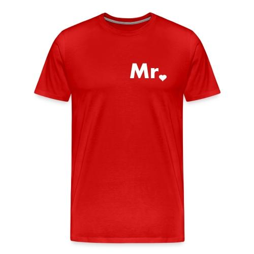 Mr. - Happily Married - Men's Premium T-Shirt