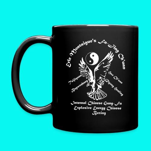 Full Color Mug with white Fa-jing logo (choice of colours) - Full Color Mug