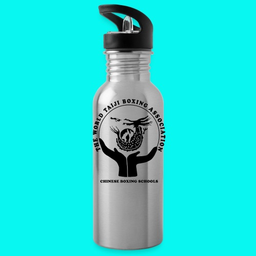 Water Bottle with logos front and back - Water Bottle