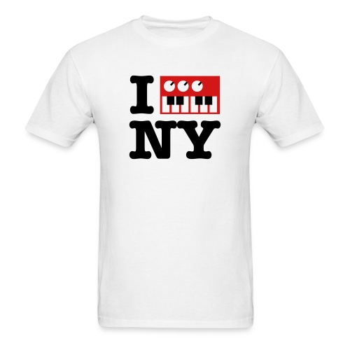 I Synth NY - Men's T-Shirt