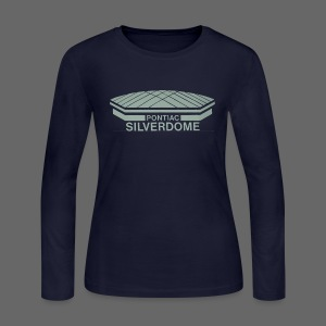 Pontiac Silverdome - Women's Long Sleeve Jersey T-Shirt