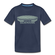 Baby & Toddler Shirts ~ Toddler Premium T-Shirt ~ Pontiac Silverdome