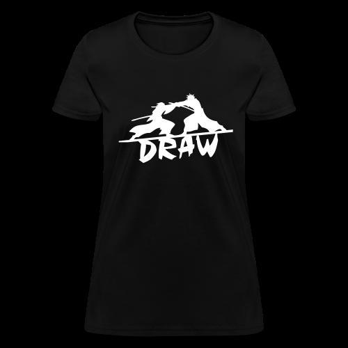 Draw Kenshin & Yahiko - Black ♀ - Women's T-Shirt