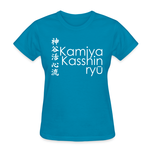 Kamiya Kasshin ryu - All Colour ♀ - Women's T-Shirt