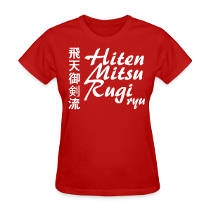 Hiten Mitsurugi ryu - All Colour ♀ - Women's T-Shirt