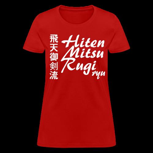 Hiten Mitsurugi ryu - All Colour ♀ - Women's T-Shirt