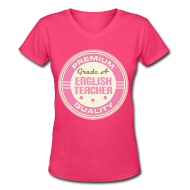 T-Shirts ~ Women's V-Neck T-Shirt ~ Article 103503117